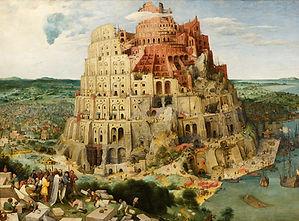 Bruegel Tower of Babel Landscapes Imagin