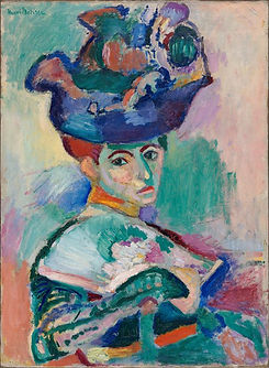 Matisse present woman in hat
