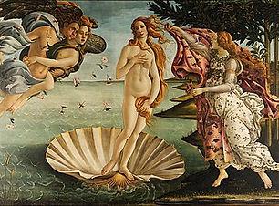 Renaissance - Birth of Venus - Botticell