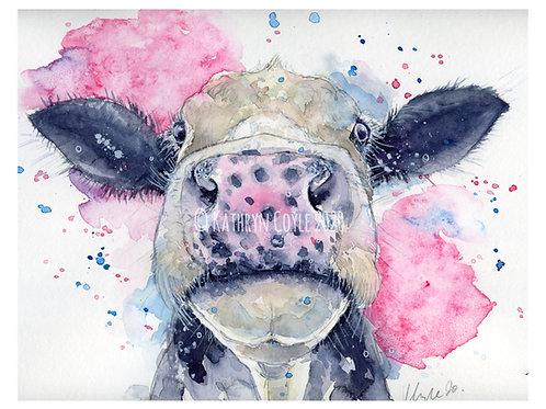 Cow Watercolour Tutorial
