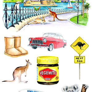 Australia Assets for Fabric