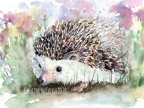 Hedgehog Watercolour Tutorial