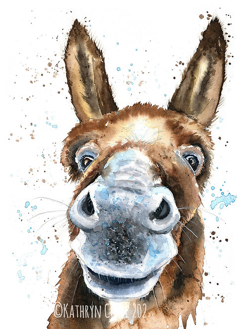 Donkey Watercolour Tutorial