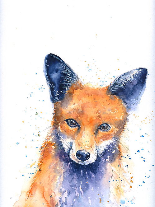Fox Watercolour Tutorial