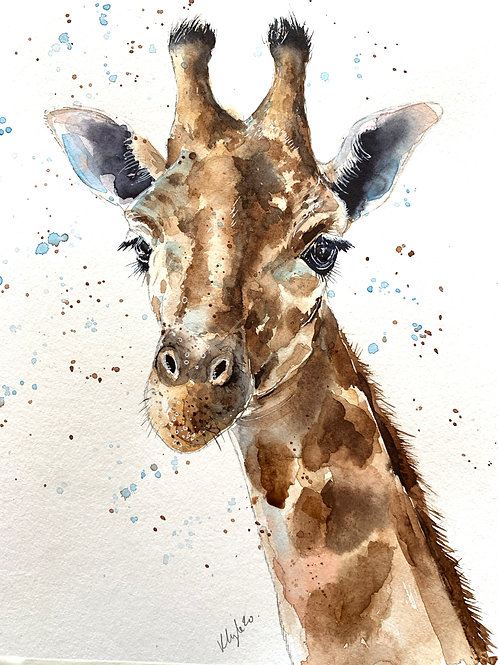Giraffe Watercolour Tutorial