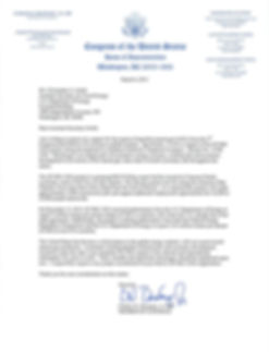Letter of Support for the application to export LNG to non-Free Trade Agreement countries dated March 6, 2015 from United States Member of the House of Representatives, Congressman Charles Boustany, Jr., MD, in support of the LNG Export Terminal at Monkey