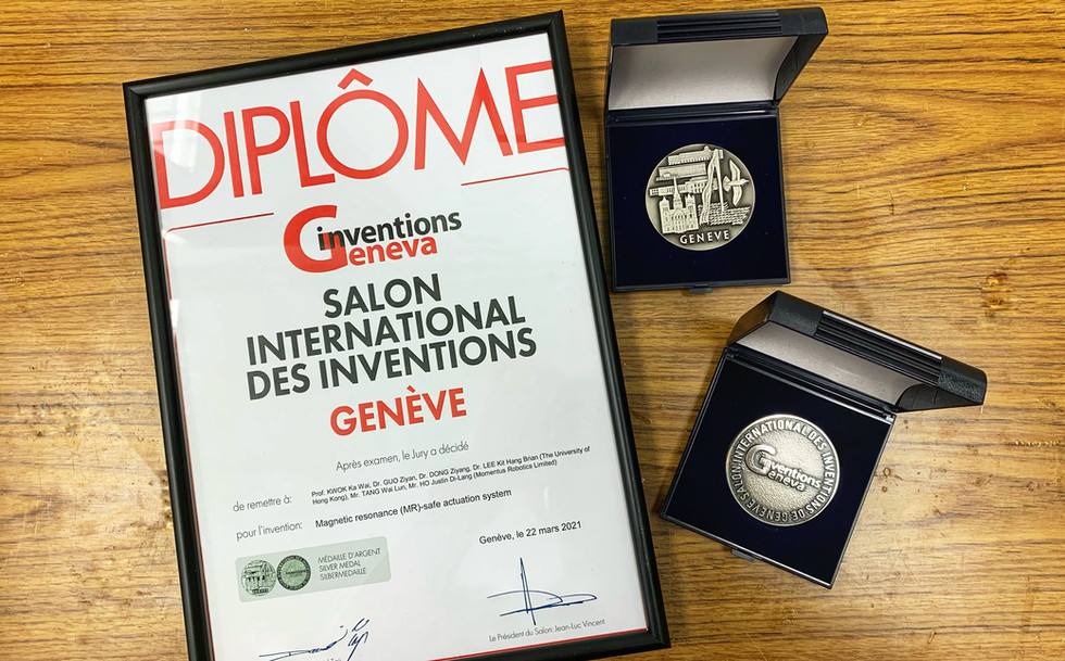 Silver Medal Special Edition 2021 Inventions Geneva Evaluation Days