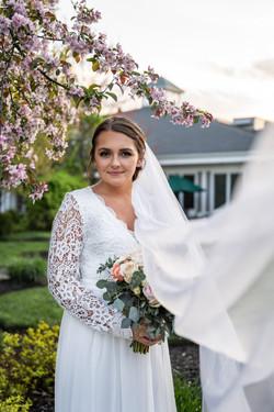 Spring Wedding Bridal Portrait Cincinnati Ohio