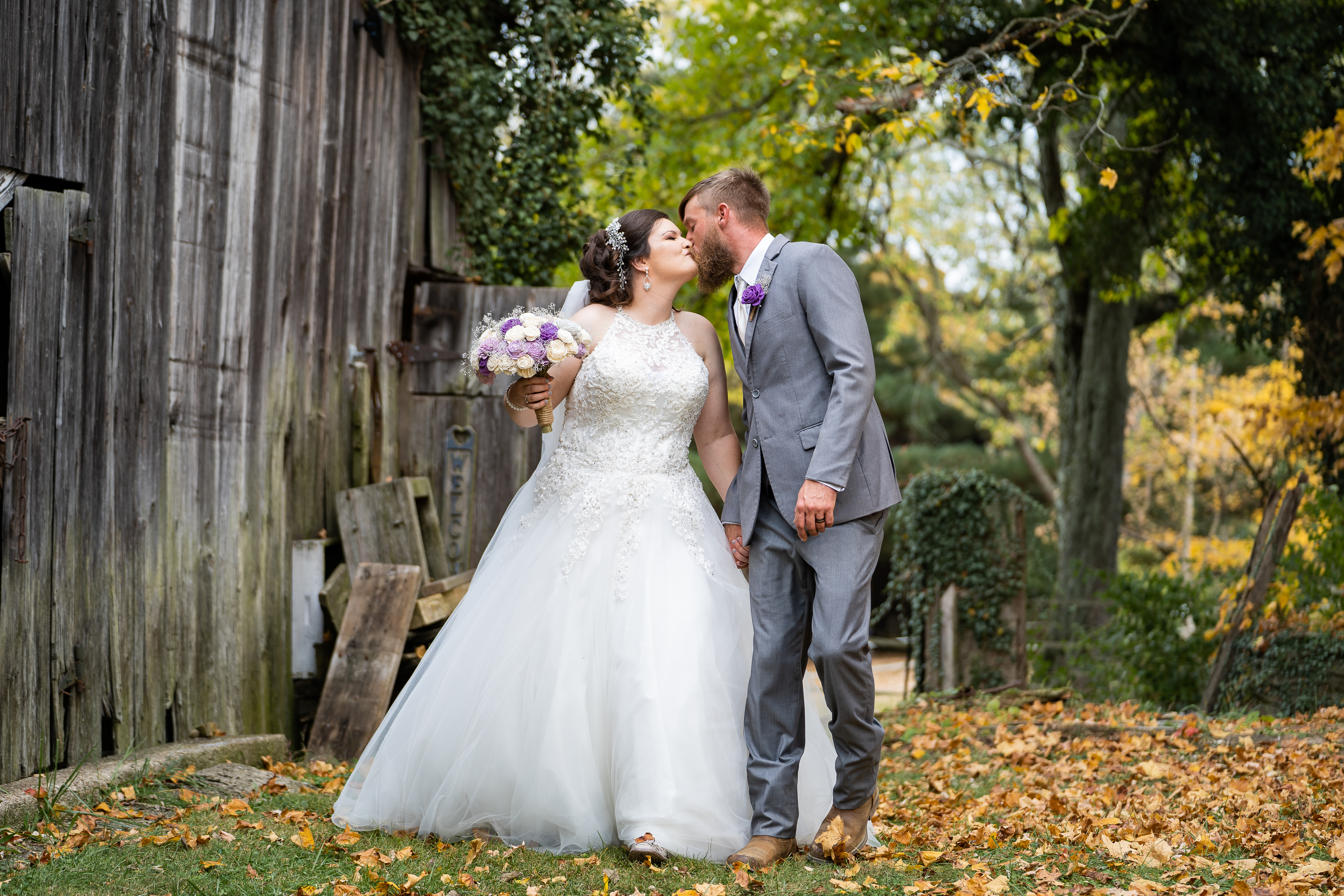 Fall Outdoor Country Wedding
