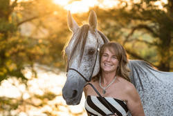 Sunset Equine Portrait Session Northern Kentucky