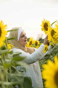 Outdoor Sunflower Field Session Mason, Ohio