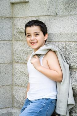 Spring Child Boy Outdoor Portrait Photoshoot   Victoria Siebe Photography + Film