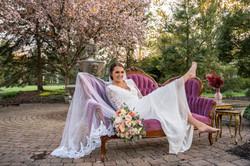 Spring Garden Boho Wedding Cincinnati Ohio