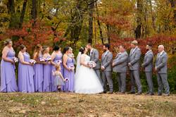 Indiana Fall Outdoor Wedding