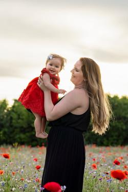Dayton Poppy Field Mommy & Me Shoot