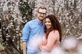 Spring Couples Cherry Blossoms Shoot