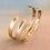 Thumbnail: Custom Brass Cuff Bracelet