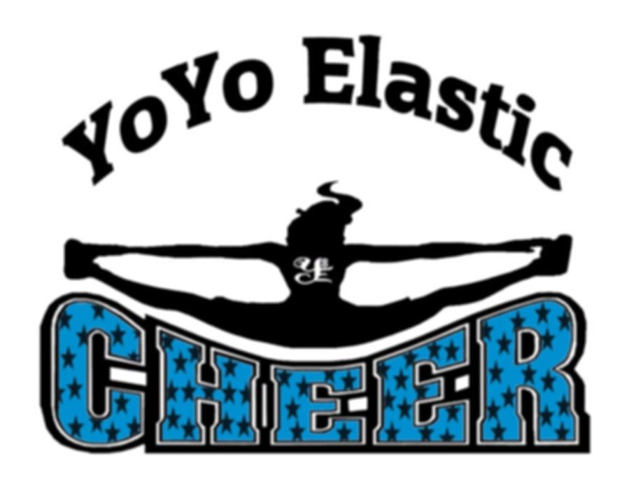 YoYo ElastiCheer Cheerleading Logo
