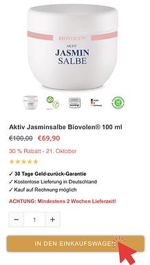 Biovolen Jasminsalbe günstig kaufen