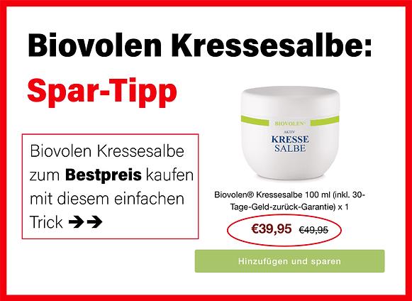 Biovolen Kressesalbe günstig kaufen