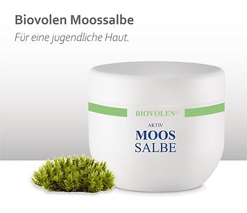 Biovolen Moossalbe gegen Falten