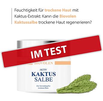 Biovolen Kaktussalbe im Test