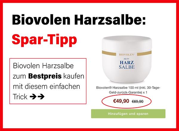 Biovolen Harzsalbe günstig kaufen