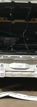 Rear body panel damage #volvo _volvocaru