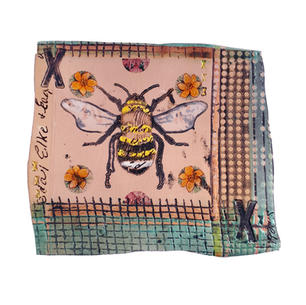 Manchester Bee - ceramic tile