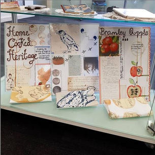 Home Cooked Heritage - Installation for Inspire: Culture, Learning and Libraries
