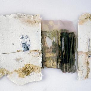 Family Ties - ceramic wall piece