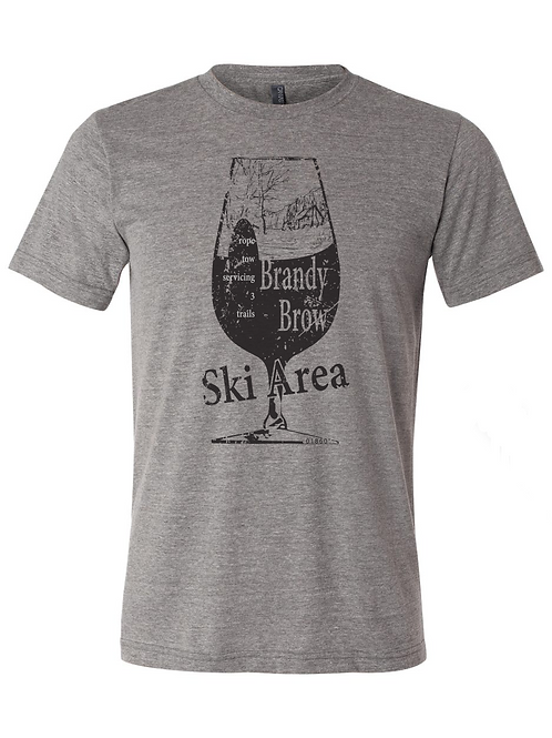 Brandy Brow Ski Area Tee Shirt
