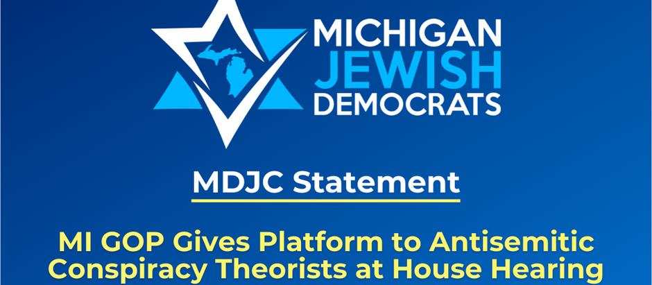 MDJC Condemns GOP for Giving Platform to Antisemitic Conspiracy Theorists at House Oversight Hearing