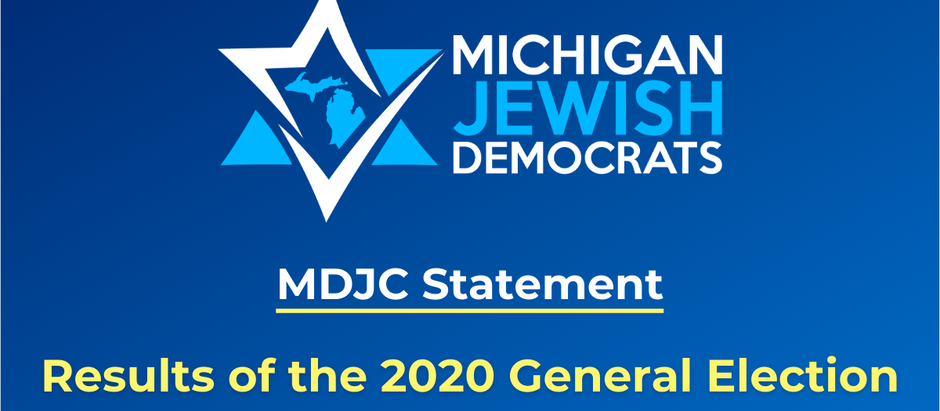 MDJC Statement on 2020 Election Results