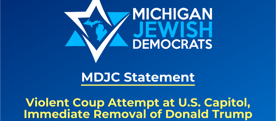 MDJC Calls for Immediate Removal of Donald Trump Following Violent Coup Attempt at U.S. Capitol