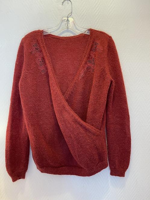 Pull rouge Sezane