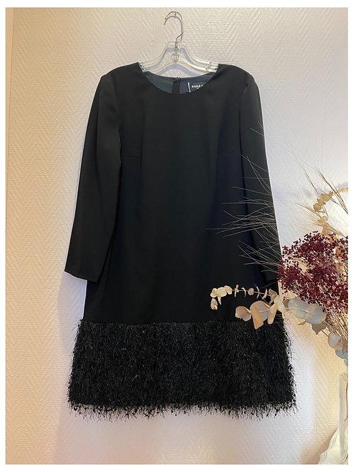 Robe noire Paule Ka