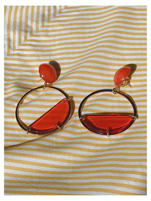 Boucles d'oreilles Réaumur-Sébastopol