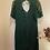Thumbnail: Robe en soie verte