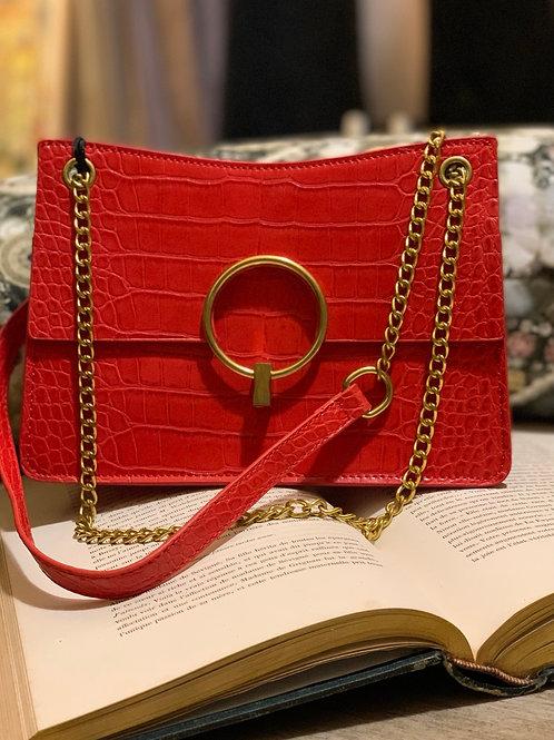 Petit sac rouge