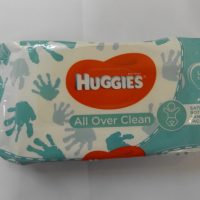 HUGGIES BW ALL OVER CLEAN 56W