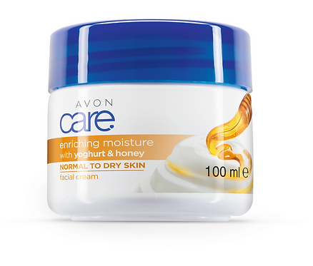 Avon Care Yoghurt & Honey Face Cream 100ml