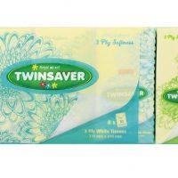 TISSUE FACIAL TWINSAVER 3PLY 10s