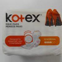 KOTEX MAXI PADS NORMAL 10s