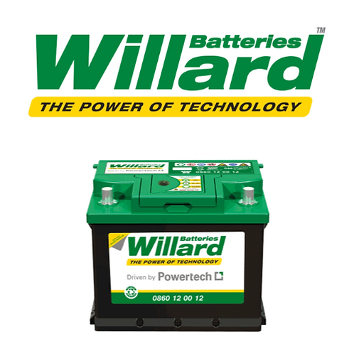 Willard Car Battery 774 W (90 Amp)