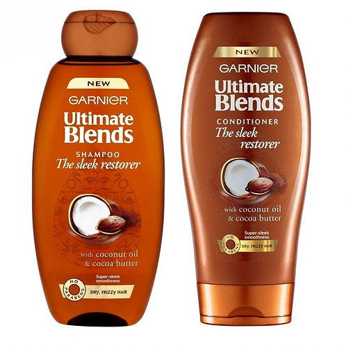 Garnier Ultimate Blends Shampoo and Conditioner