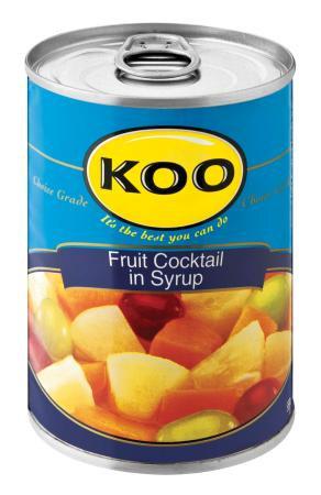 KOO FRUIT COCKTAIL 410G