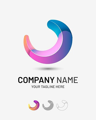 gradient-tridimensional-abstract-company