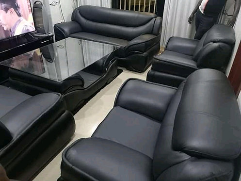 Kirsty Lounge Suite (Leatherette)