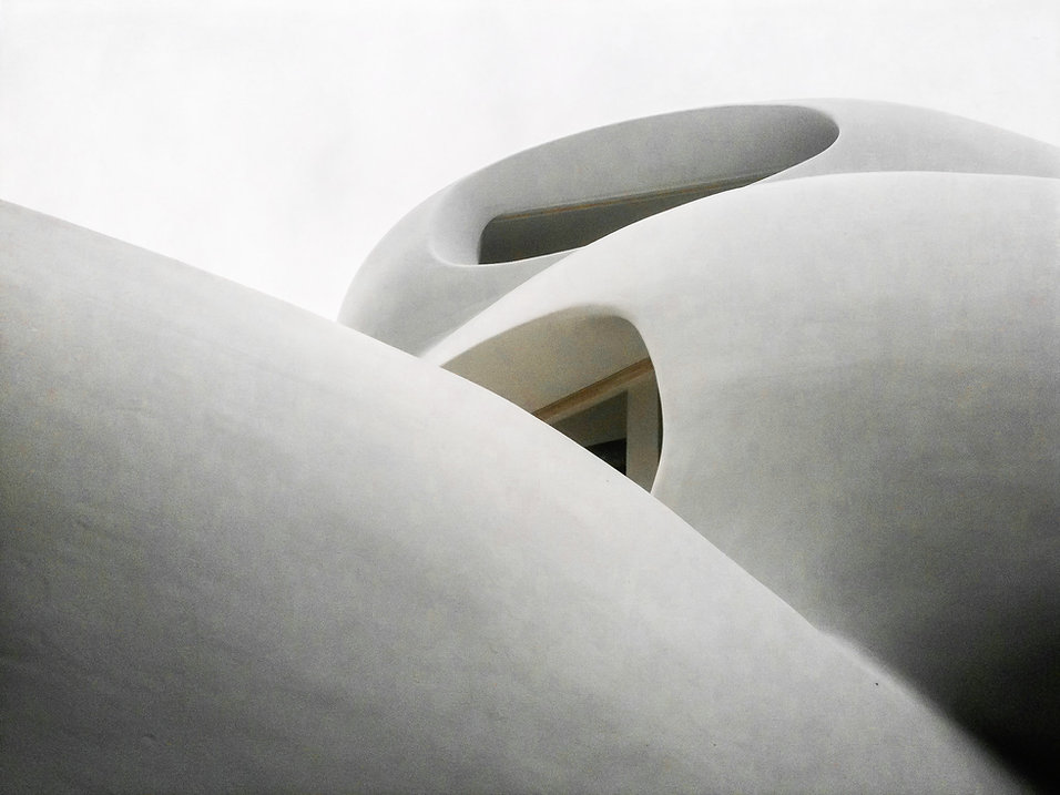 Amorphe Wohnskulptur